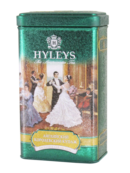 Černý čaj HYLEYS English Royal Blend Tea