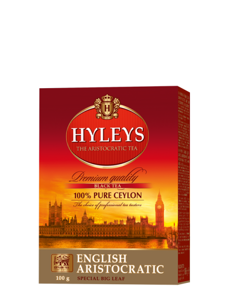Černý čaj HYLEYS English Aristocratic 100g