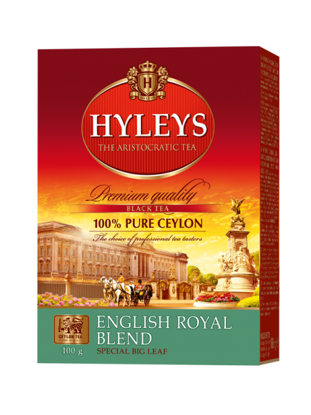 Černý čaj HYLEYS English Royal Blend Tea 100g