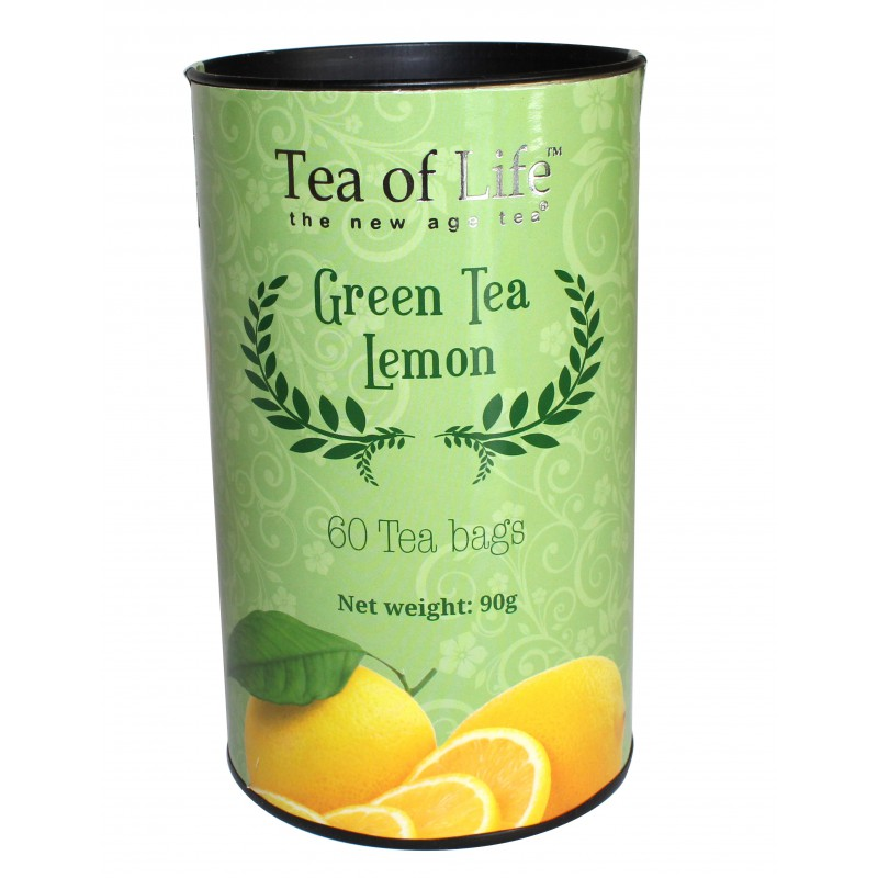 Zelený čaj Tea Of Life LEMON 60 sáčků x 1,5g