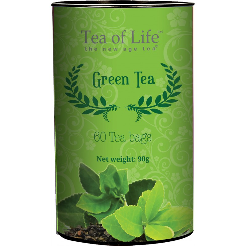 Zelený čaj Tea Of Life GREEN TEA 60 sáčků x 1,5g
