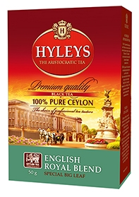 Černý čaj HYLEYS English Royal Blend Tea 50g