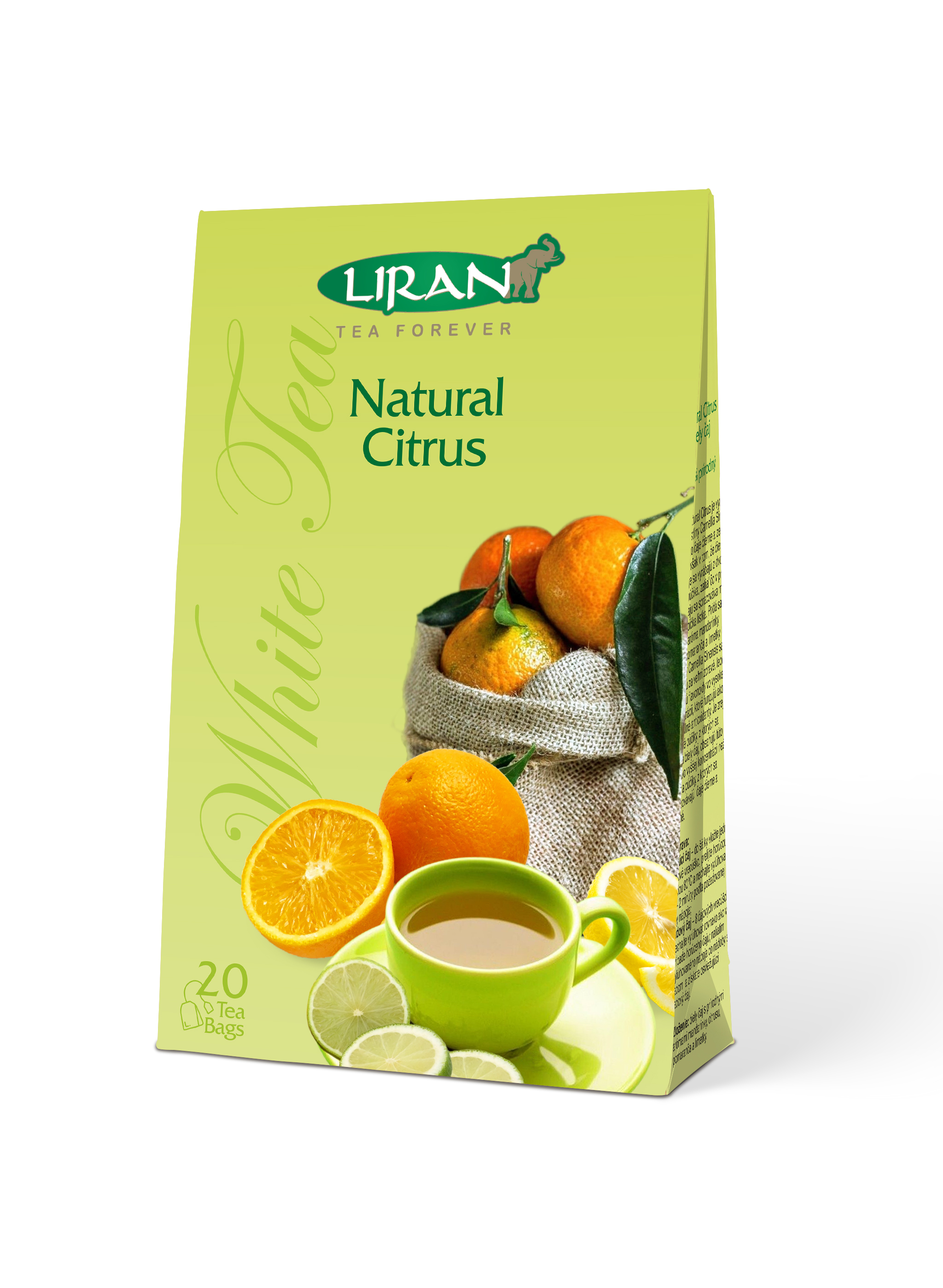 Bílý čaj NATURAL CITRUS