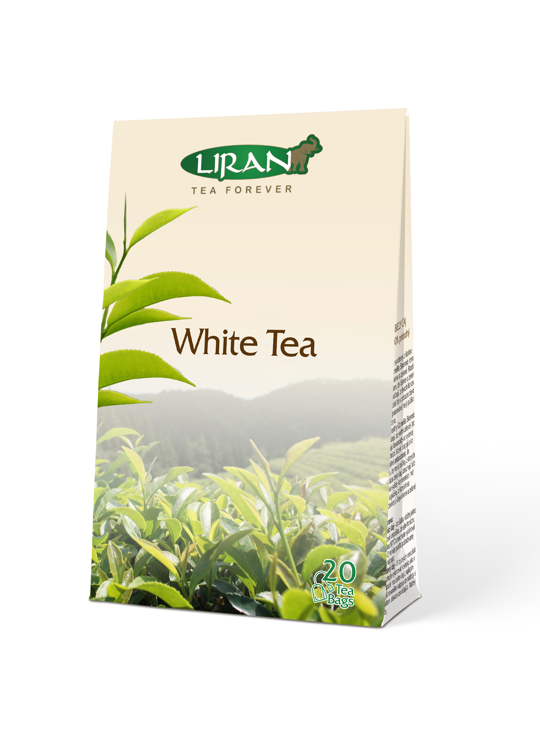 Bílý čaj WHITE TEA